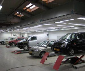 Project Autoschadebedrijf van Hasselt